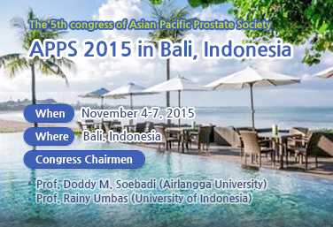 The 5th congress of Asian Pacific Prostate Society - poster